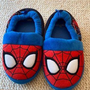 Spider-Man Slippers in Toddler Boy 10